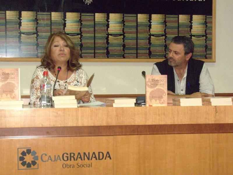 Volando los cielos interiores se presenta en Granada